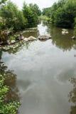 Rocas en el río Foto de archivo libre de regalías