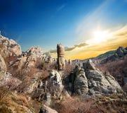 Rocas en el valle de fantasmas Imagenes de archivo