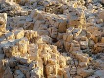 Rocas en la luz del sol Fotos de archivo libres de regalías