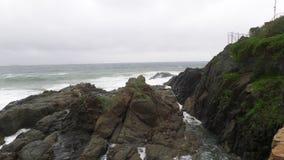 Rocas en la playa fotografía de archivo libre de regalías