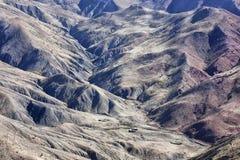 Rocas en las altas montañas del atlas. Imagen de archivo libre de regalías