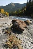 Rocas en las ovejas River Valley fotos de archivo libres de regalías