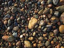 Rocas en las playas de Tijuana Imagen de archivo