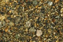 Rocas en a orillas del lago Fotografía de archivo