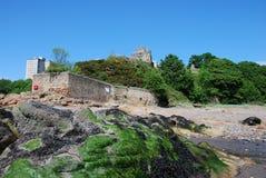 Rocas en Ravenscraig Fotos de archivo libres de regalías