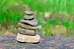 Rocas en rocas Fotos de archivo libres de regalías
