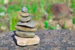 Rocas en rocas Fotos de archivo