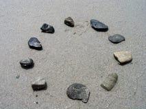 Rocas en un círculo Fotografía de archivo