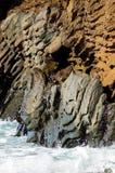 Rocas erosionadas Foto de archivo libre de regalías
