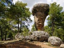 Rocas extrañas en la ciudad encantada de Cuenca Imagen de archivo libre de regalías