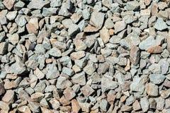 Rocas ferroviarias Foto de archivo libre de regalías