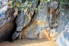 Rocas grandes en Mulakandha Kuti Fotografía de archivo libre de regalías