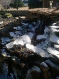Rocas heladas fotografía de archivo