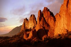 Rocas hermosas Foto de archivo libre de regalías