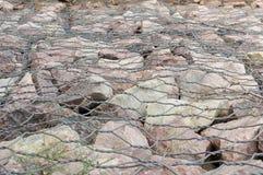 Rocas ligadas Fotografía de archivo libre de regalías