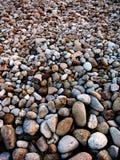 Rocas llenadas para arriba en el paisaje para la decoración Imagen de archivo