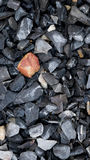 Rocas machacadas Fotografía de archivo