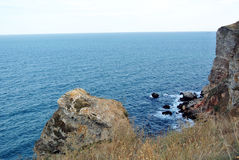 Rocas Mar bulgaria Imagen de archivo libre de regalías