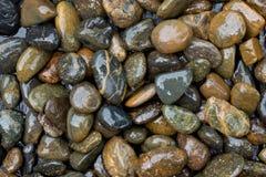 Rocas mojadas Imagen de archivo libre de regalías