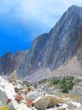 Rocas a montones en el arco Wyoming de la medicina imágenes de archivo libres de regalías