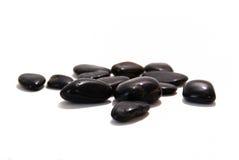 Rocas negras Fotos de archivo