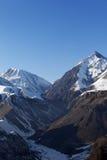 Rocas Nevado por la tarde Fotos de archivo