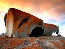Rocas notables Imagen de archivo libre de regalías
