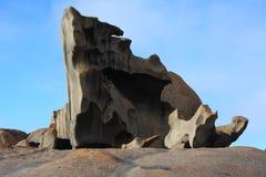 Rocas notables de la isla del canguro Imagen de archivo