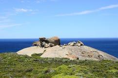 Rocas notables, parque nacional de la caza del Flinders, isla del canguro Foto de archivo libre de regalías