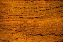 Rocas ocres en el Rosellón, Francia foto de archivo libre de regalías