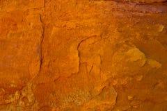 Rocas ocres en el Rosell?n, Francia fotos de archivo libres de regalías
