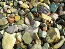 Rocas pintadas Imagenes de archivo