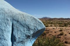 Rocas pintadas Fotografía de archivo libre de regalías