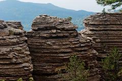 Rocas pintorescas 2 Foto de archivo libre de regalías