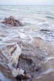 Rocas por la playa, Hua Hin Fotos de archivo