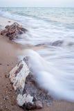 Rocas por la playa, Hua Hin Fotografía de archivo libre de regalías