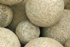Rocas redondas Imagen de archivo libre de regalías