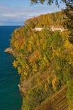 Rocas representadas otoño Foto de archivo libre de regalías