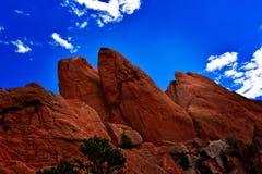 Rocas rojas Foto de archivo