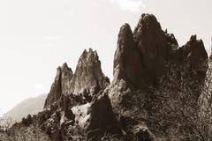 Rocas rojas imágenes de archivo libres de regalías