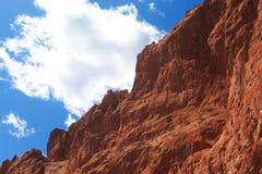 Rocas rojas Fotos de archivo libres de regalías