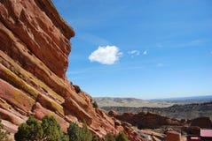 Rocas rojas Fotografía de archivo