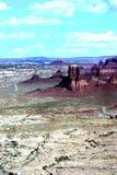 Rocas rojas de Canyonlands Foto de archivo libre de regalías