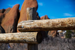 Rocas rojas de Colorado Fotos de archivo