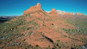 Rocas rojas de Sedona almacen de metraje de vídeo