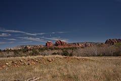 Rocas rojas de Sedona 1 Imágenes de archivo libres de regalías