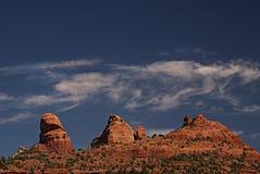 Rocas rojas de Sedona 3 Foto de archivo libre de regalías
