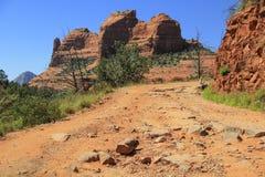 Rocas rojas de Sedona, Arizona los E.E.U.U. Fotos de archivo