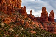 Rocas rojas de Sedona AZ Estados Unidos fotografía de archivo