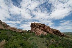 Rocas rojas parque, Colorado Foto de archivo
